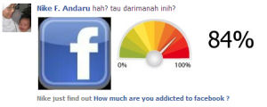 Addicted to Facebook?
