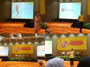 sharing dari pakar di Dancow Parenting Seminar