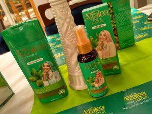 Azalea : Shampoo Khusus Perempuan Berhijab